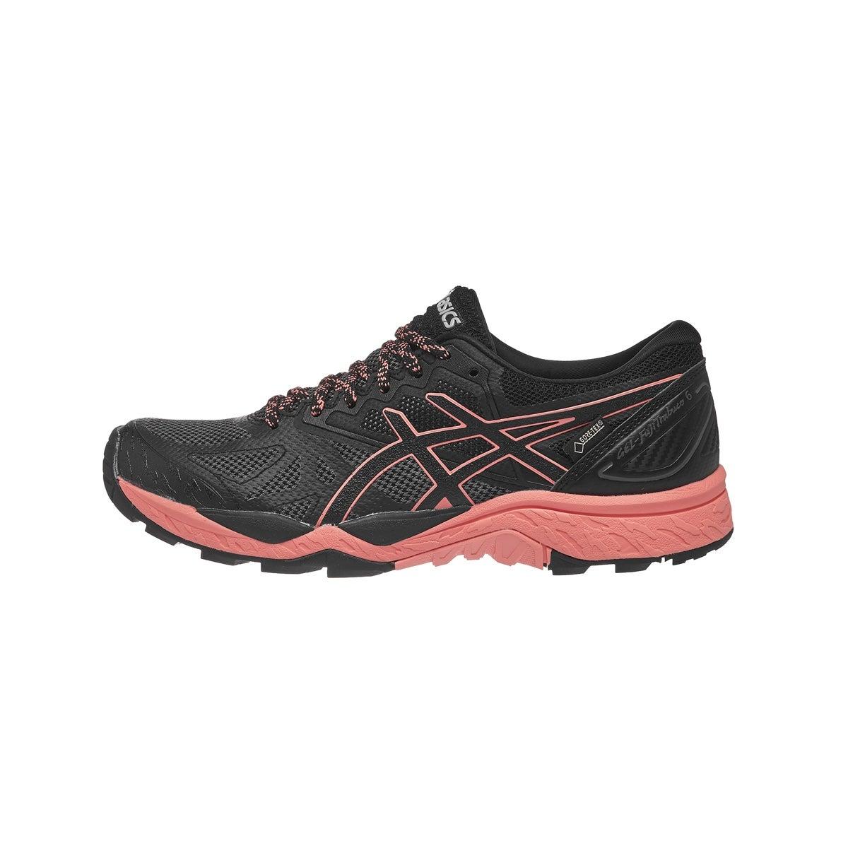 Asics Pink Black Shoes
