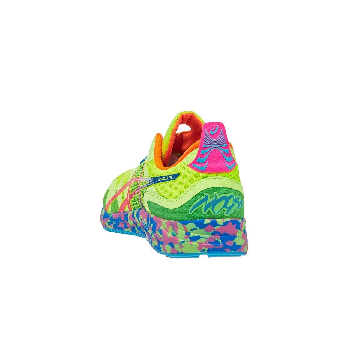 ASICS Gel Noosa Tri 12 Men's Shoes YellowGreenMulti 360
