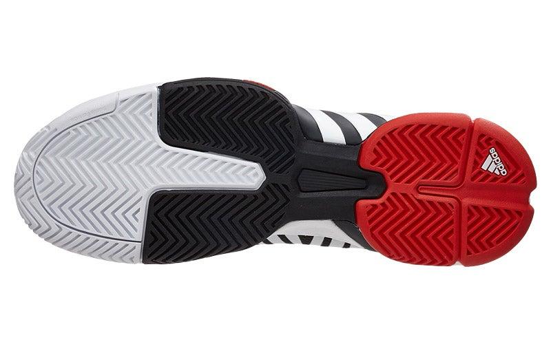 40aae9d368efb adidas Barricade 2016 boost Y3 White Black Men s Shoe 360° View ...