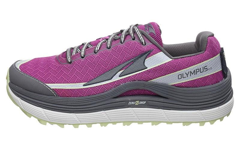 Altra Olympus 2.0 Women's Shoes Purple/Mint 360° View ...