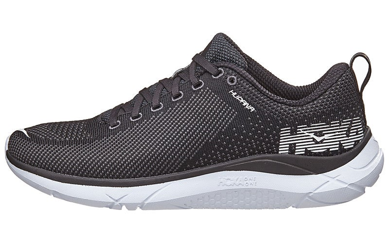 Hoka One One Bondi 5 Sole Unit. The midsole of the Bondi 5 is comprised of very soft EVA foam that runs the whole length of the shoe. It is a very thick layer of cushioning so you do feel like you're standing a little taller than in a conventional running shoe.
