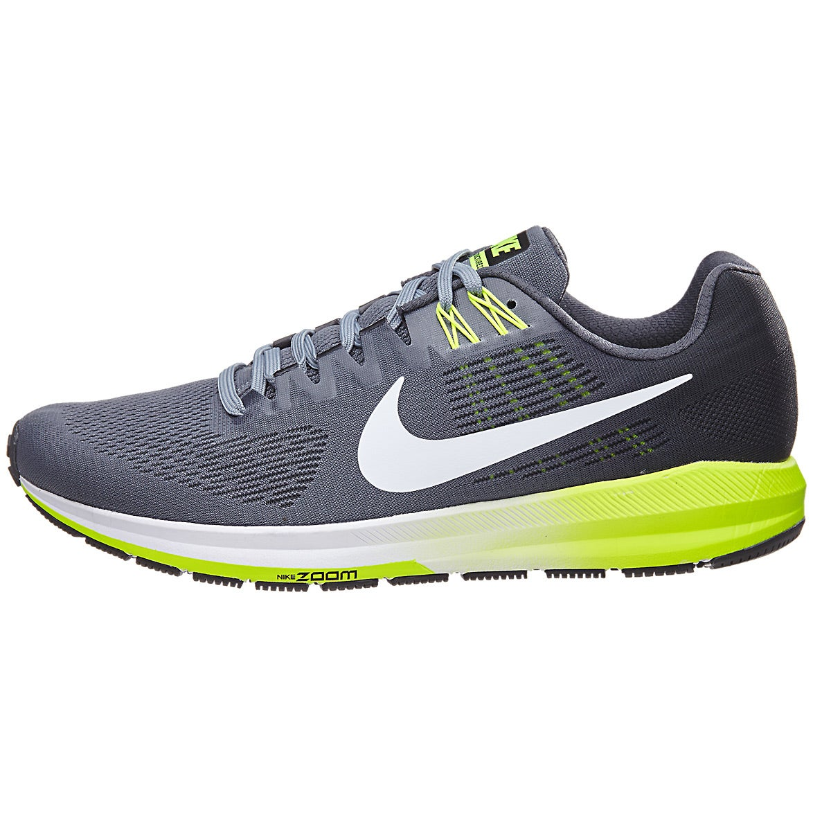 Nike Zoom Structure 21 2E (Wider) Men's Shoes Cool Grey ...