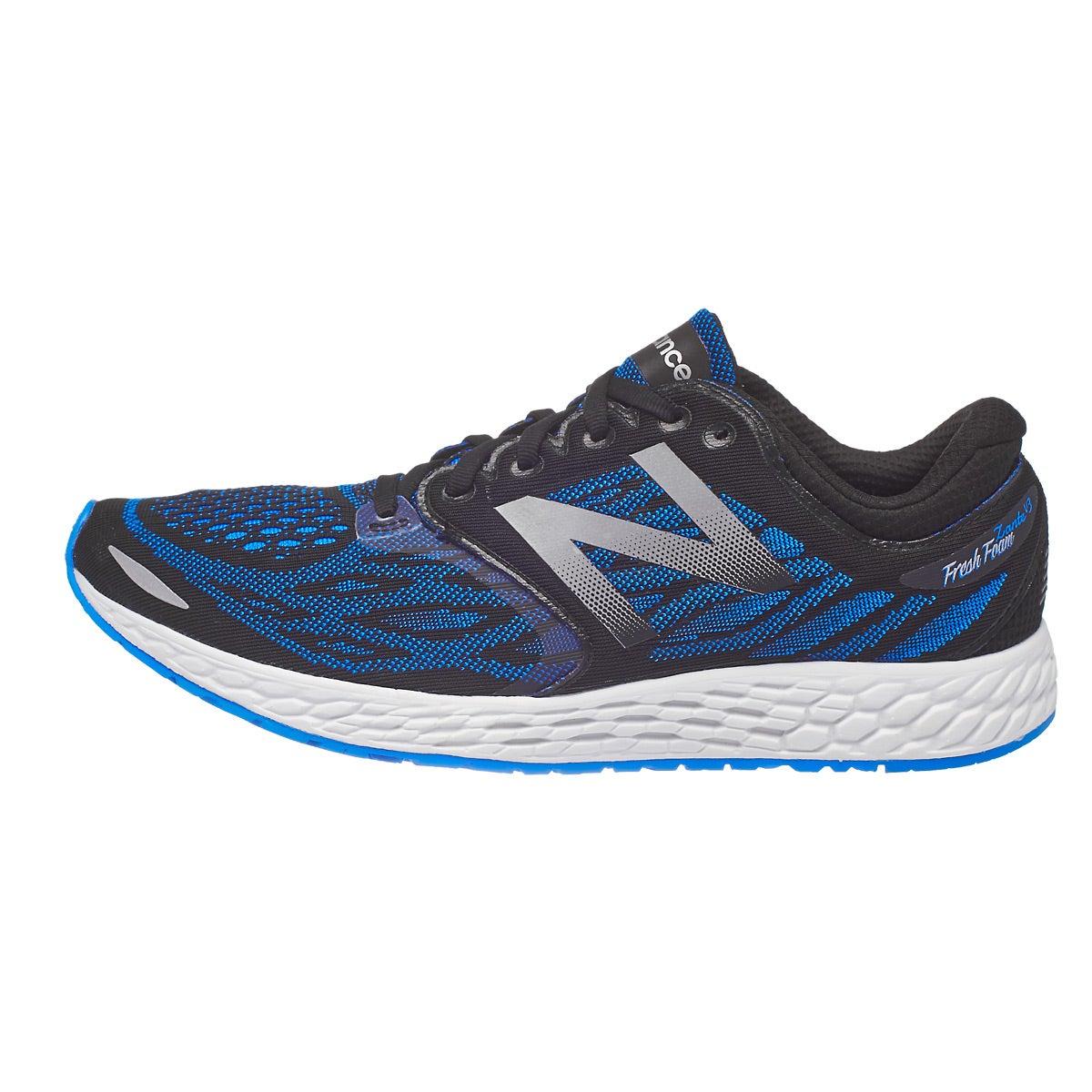 New Balance Fresh Foam Zante v3 Men's Shoe Black/Blue 360 ...