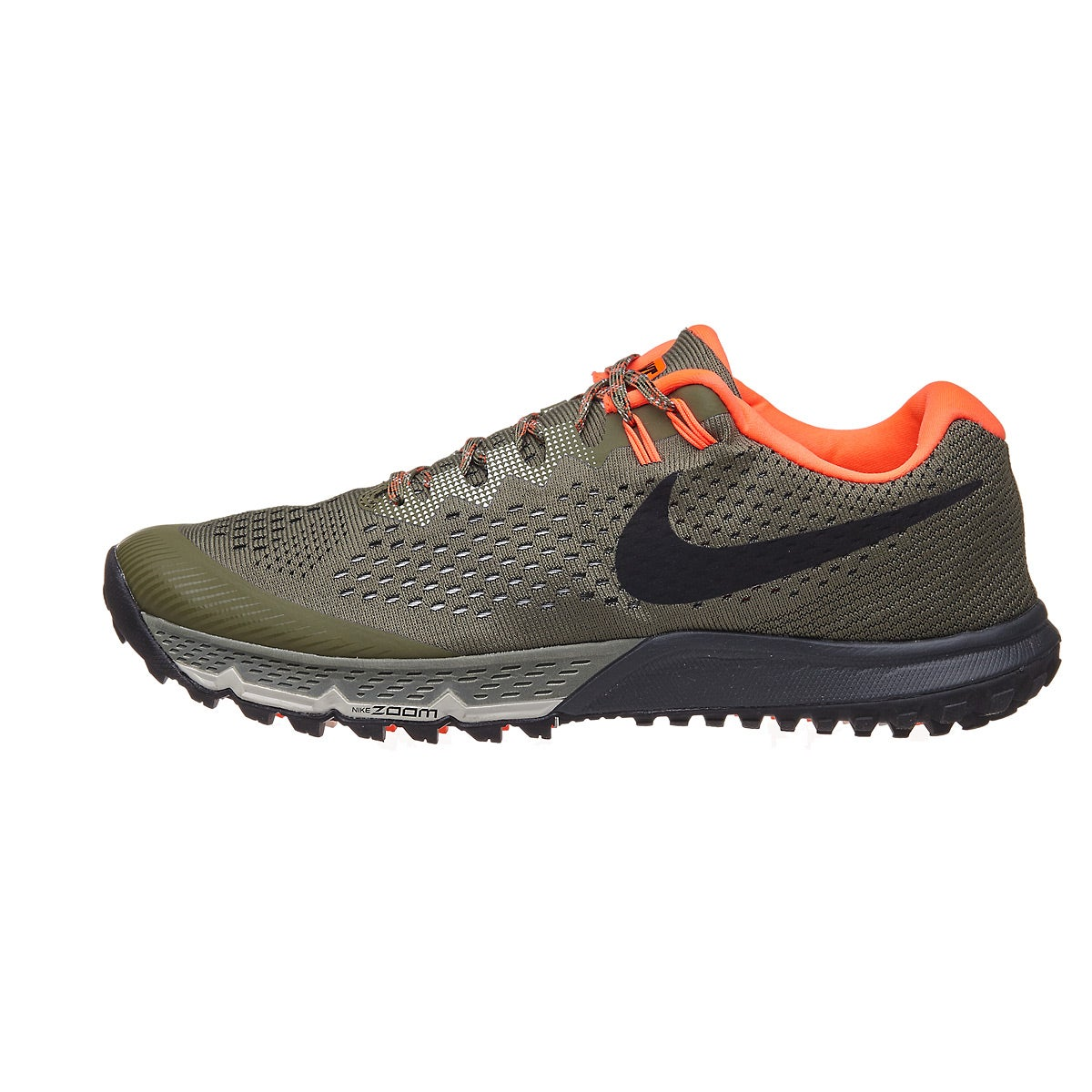 eb2dff6fb1 Nike Zoom Terra Kiger 4 Men's Shoes Medium Olive/Blac 360° View | Running  Warehouse Europe.