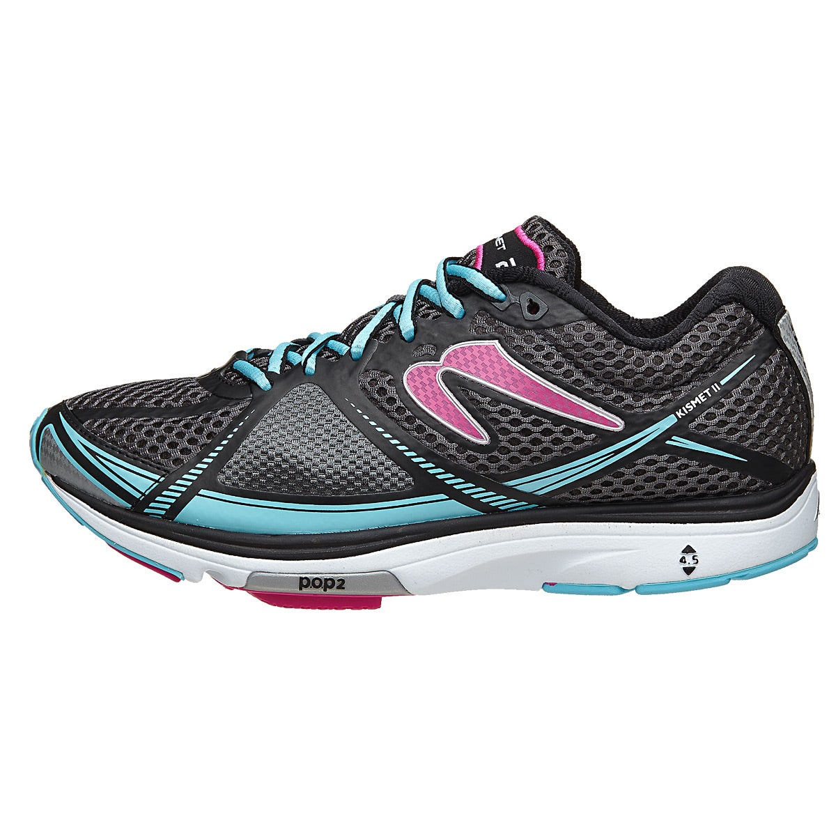 Newton Kismet II Women's Shoes Black/Pink 360° View