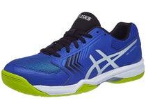 d456d8270aa15c -44% Asics Gel Dedicate 5 Black/Blue/Yellow Men's Shoes