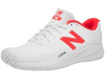 74d56709ef9f7 -48% New Balance 996v3 Wimbledon White/Red Women's Shoe. Sale!
