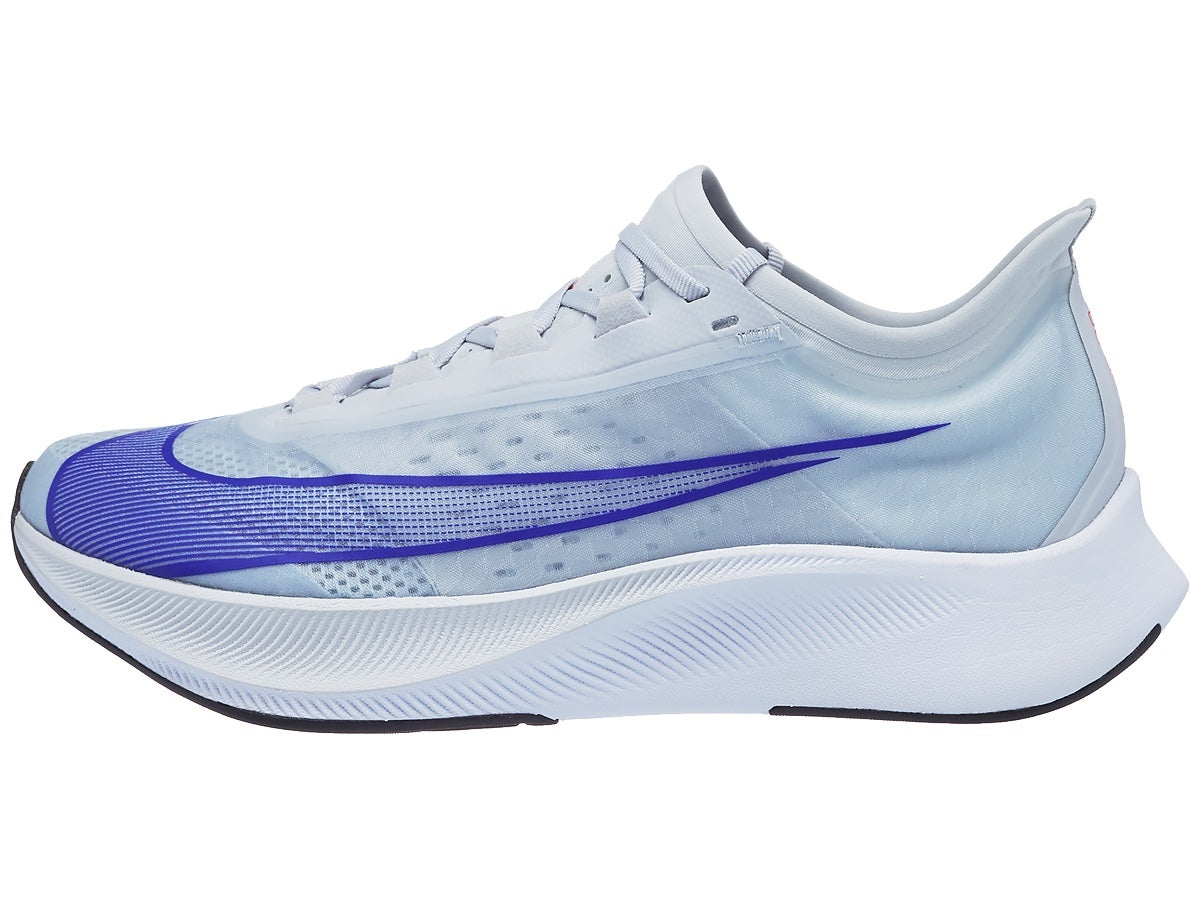 Zapatillas Hombre Nike Zoom Fly 3 Platino/Azul