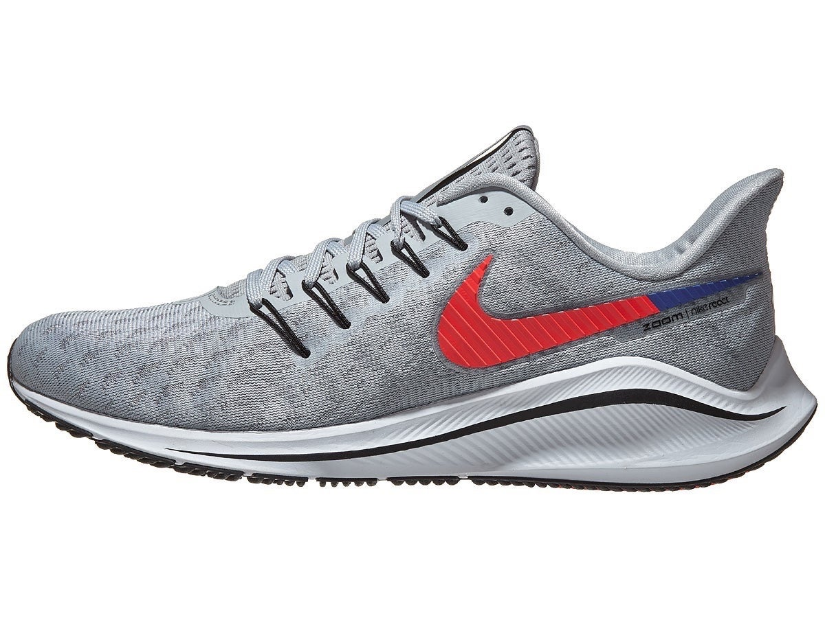 Zapatillas Hombre Nike Zoom Vomero 14 Gris Wolf/Carmesí