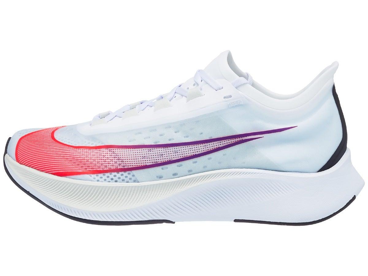 Zapatillas Hombre Nike Zoom Fly 3 Blanco/Carmesí
