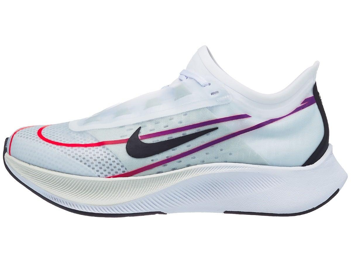 Zapatillas Mujer Nike Zoom Fly 3 Blanco/Violeta/Carmesí