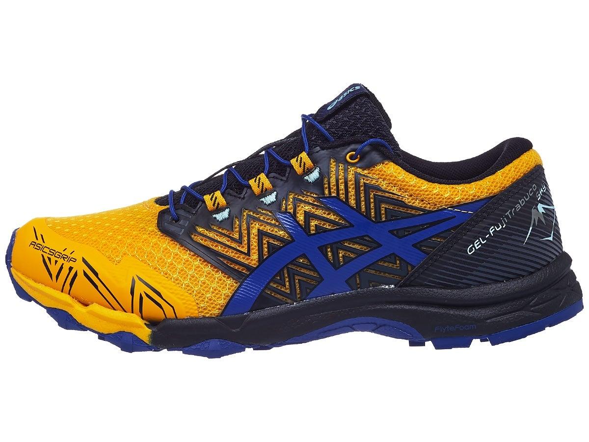 ASICS Gel Fujitrabuco Sky Men's Shoes Sunflower/Blue