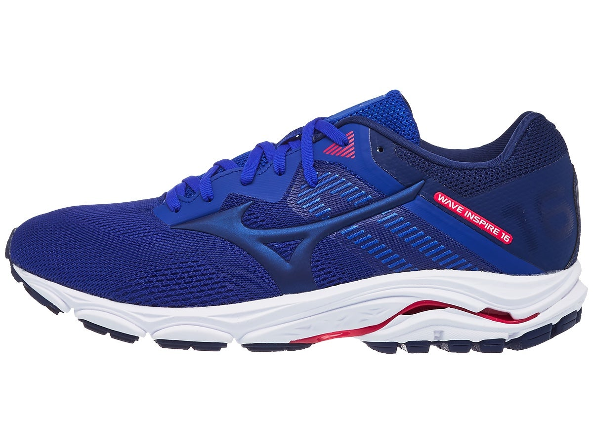 Zapatillas Hombre Mizuno Wave Inspire 16 Azul Reflex/Rosa
