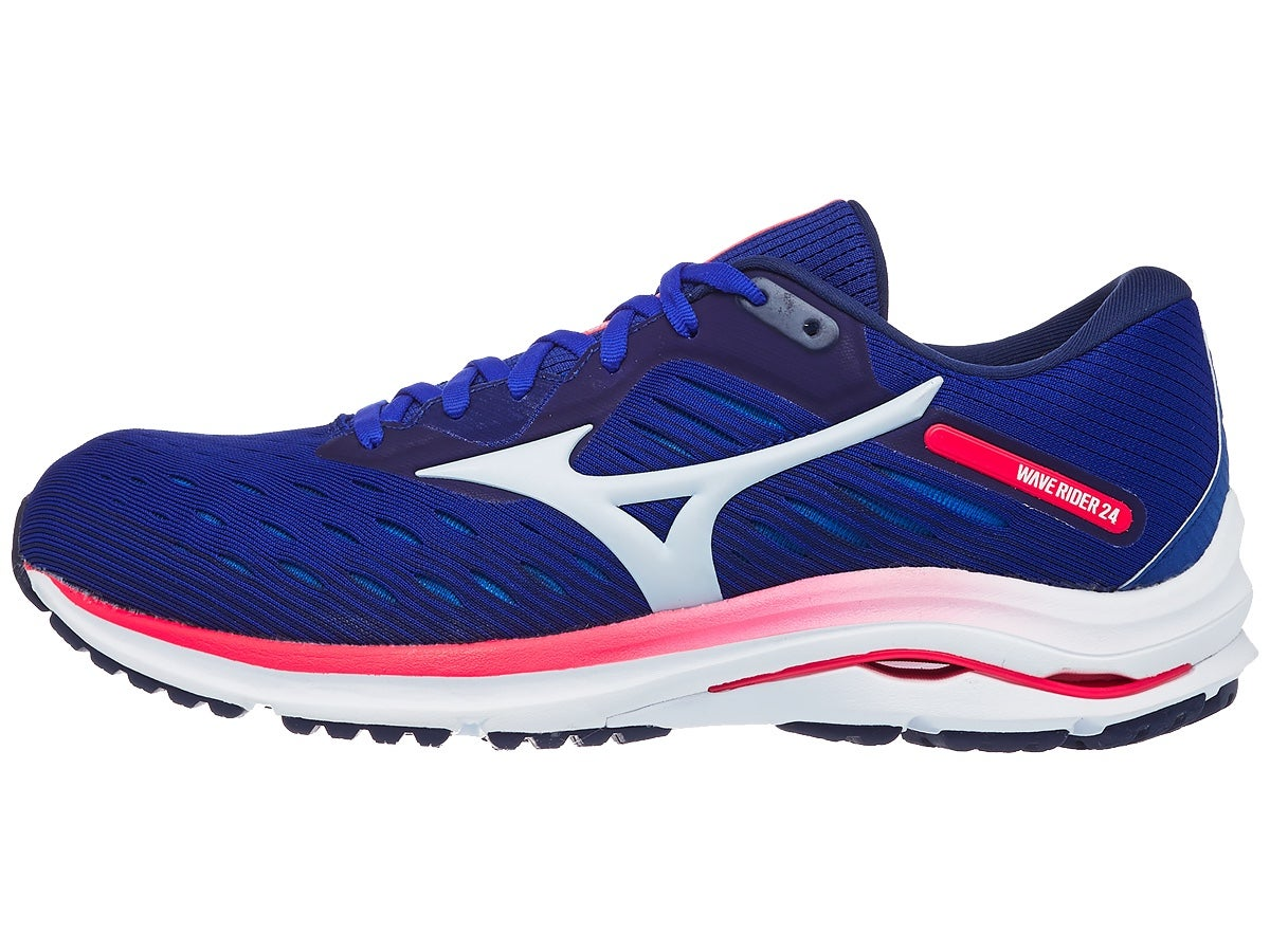 Mizuno Wave Rider 24 Men's Shoes Reflex Blue/Silver