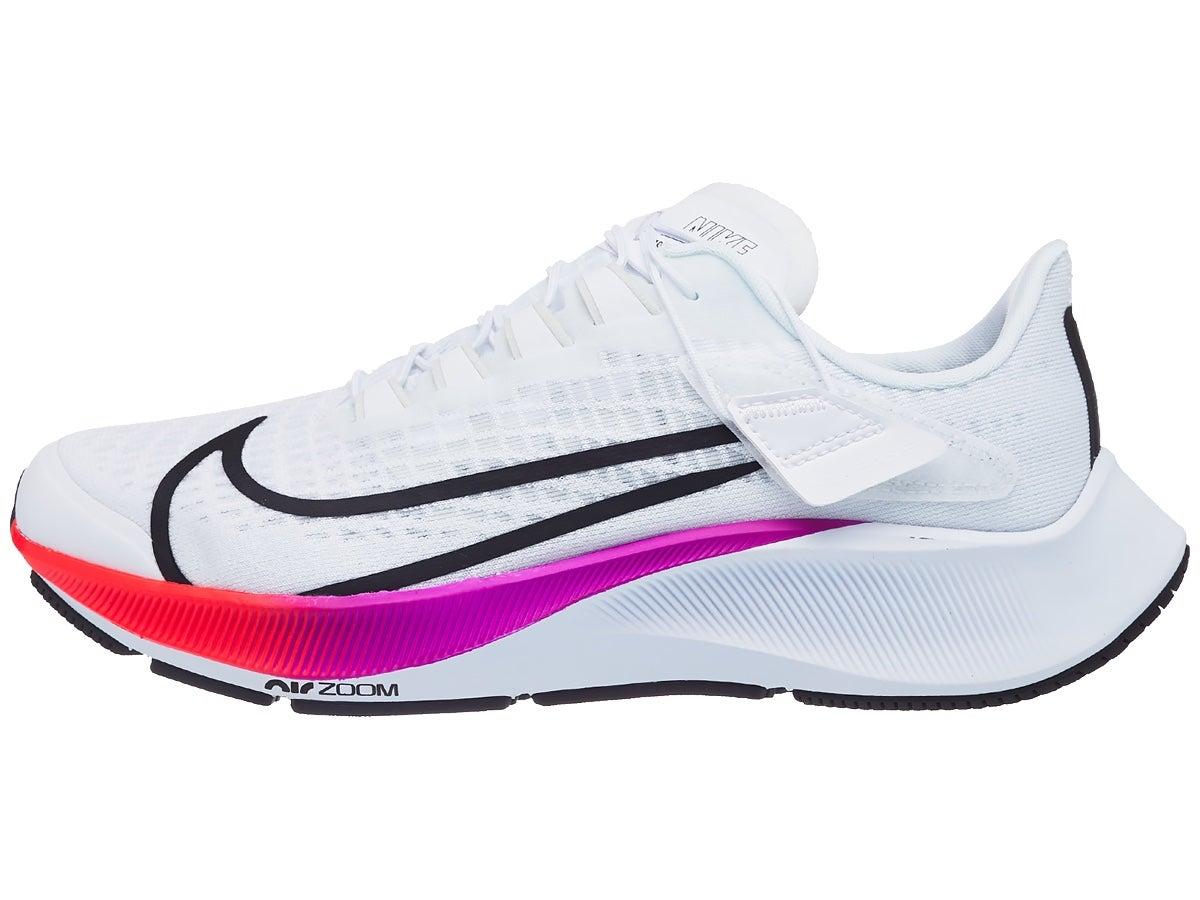 Zapatillas Mujer Nike Zoom Pegasus 37 Flyease Blanco/Carmesí
