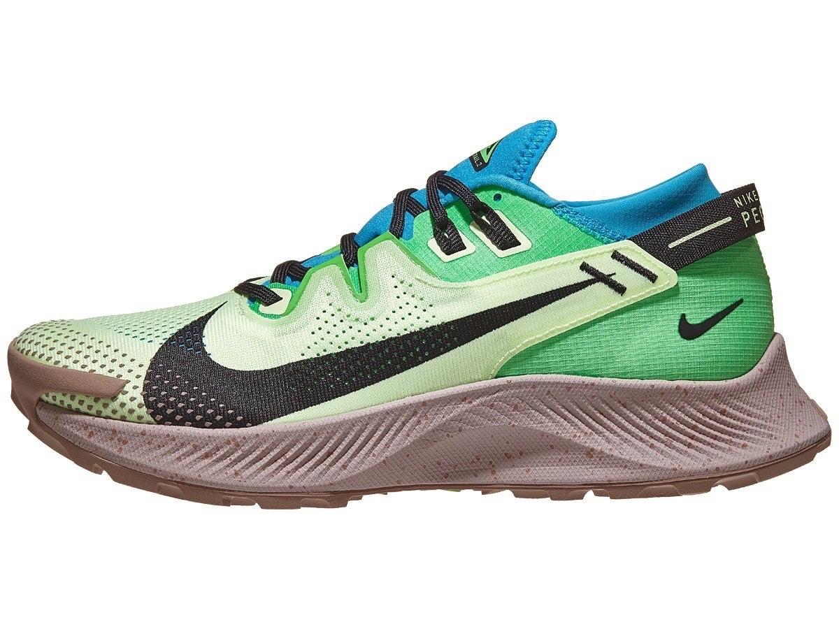 Nike Zoom Pegasus Trail 2 Men's Shoes Volt/Black/Blue