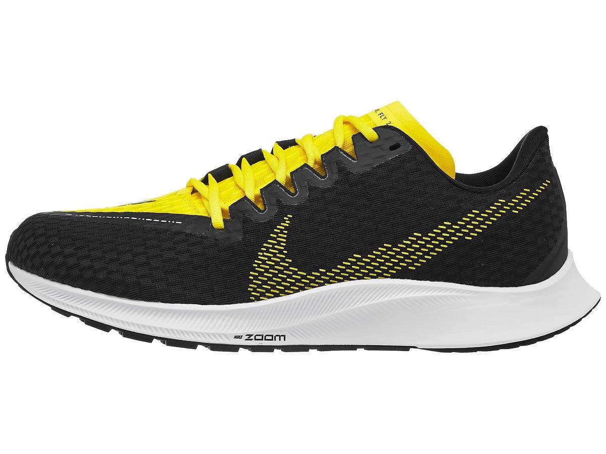 Zapatillas Hombre Nike Zoom Rival Fly 2 Negro/Amarillo