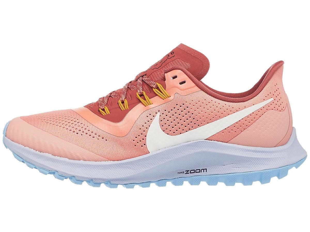 Zapatillas Mujer Nike Zoom Pegasus 36 Trail Rosa/Ivory