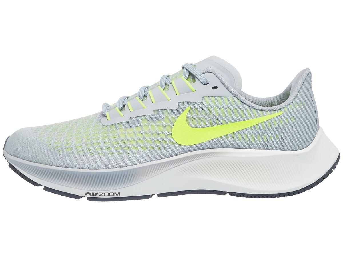 Zapatillas Hombre Nike Zoom Pegasus 37 Gris/Amarillo fosforito