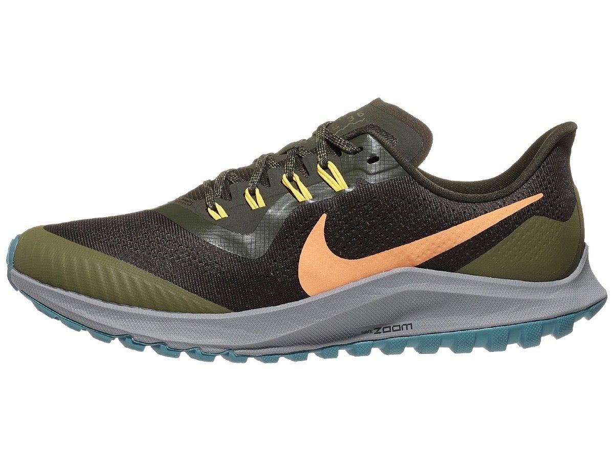Zapatillas Hombre Nike Zoom Pegasus 36 Trail Oliva/Naranja