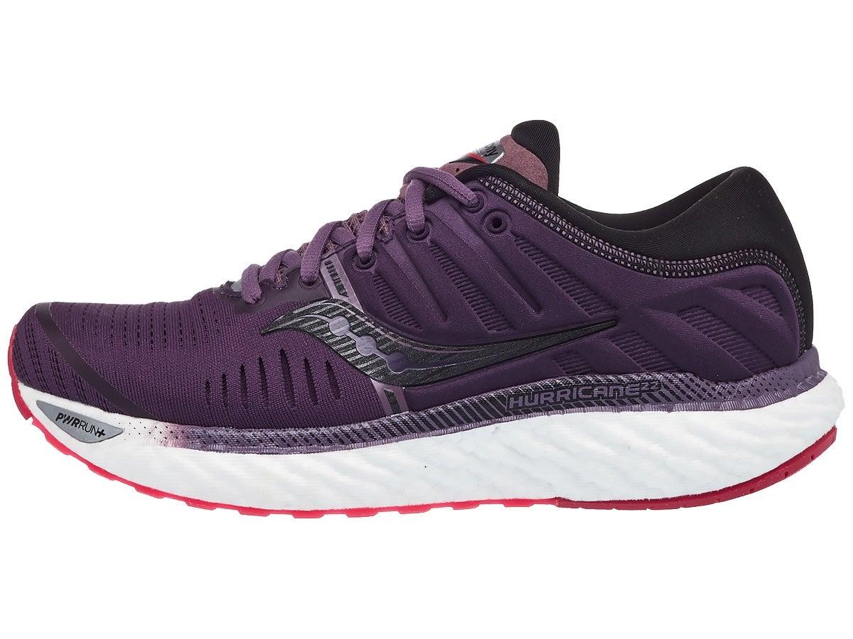 Saucony Hurricane 22 Women's Shoes Dusk/Berry