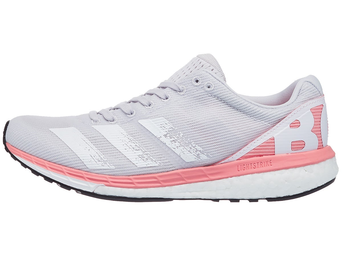 Zapatillas Mujer adidas adizero Boston 8 Gris/Rosa