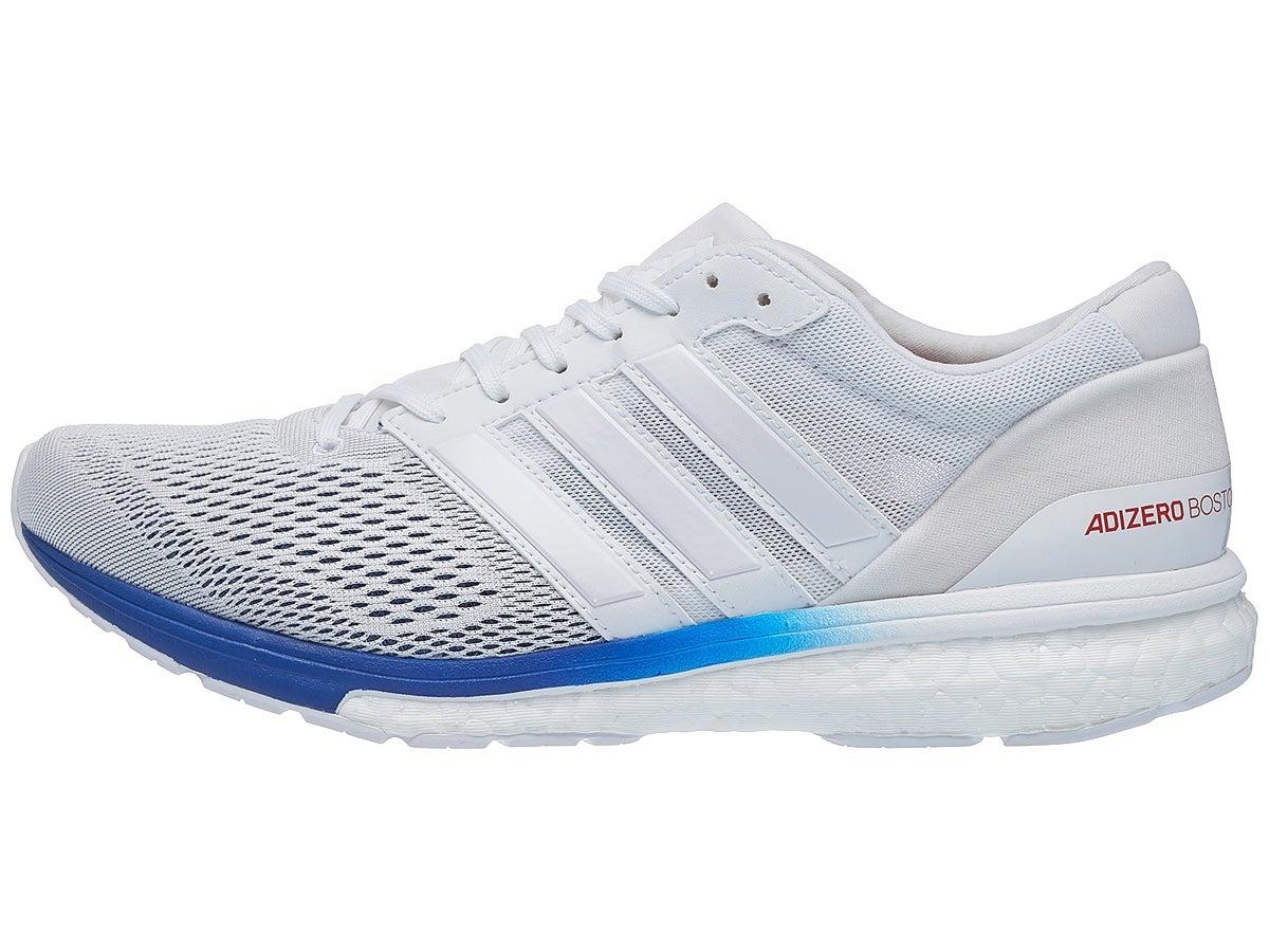 Zapatillas Unisex adidas adizero Boston 6 Aktiv Blanco/Azul Marino