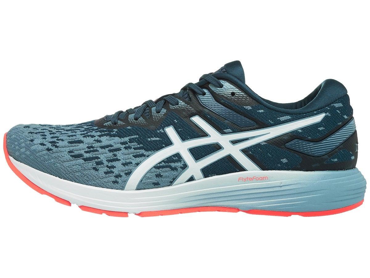 ASICS DynaFlyte 4 Men's Shoes Blue/Coral