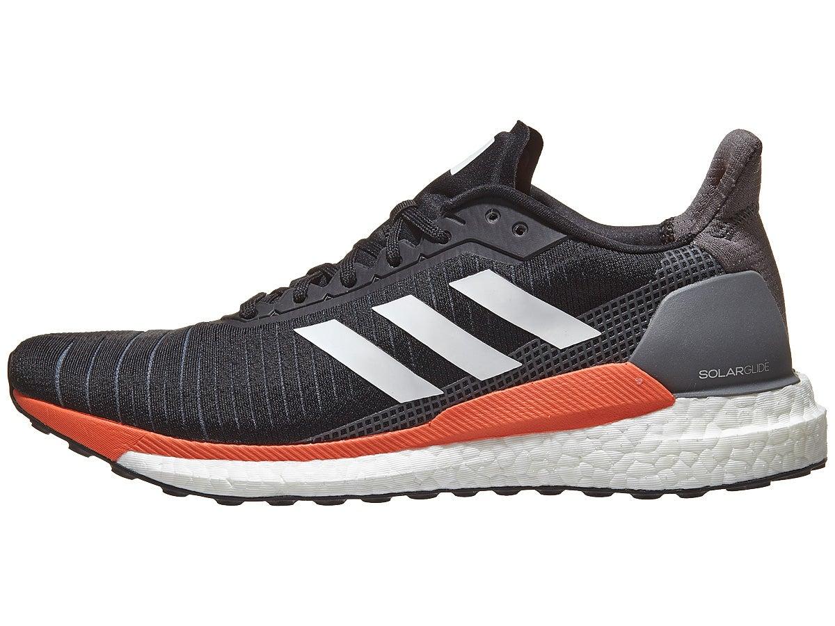 Zapatillas Hombre adidas Solar Glide Negro/Naranja