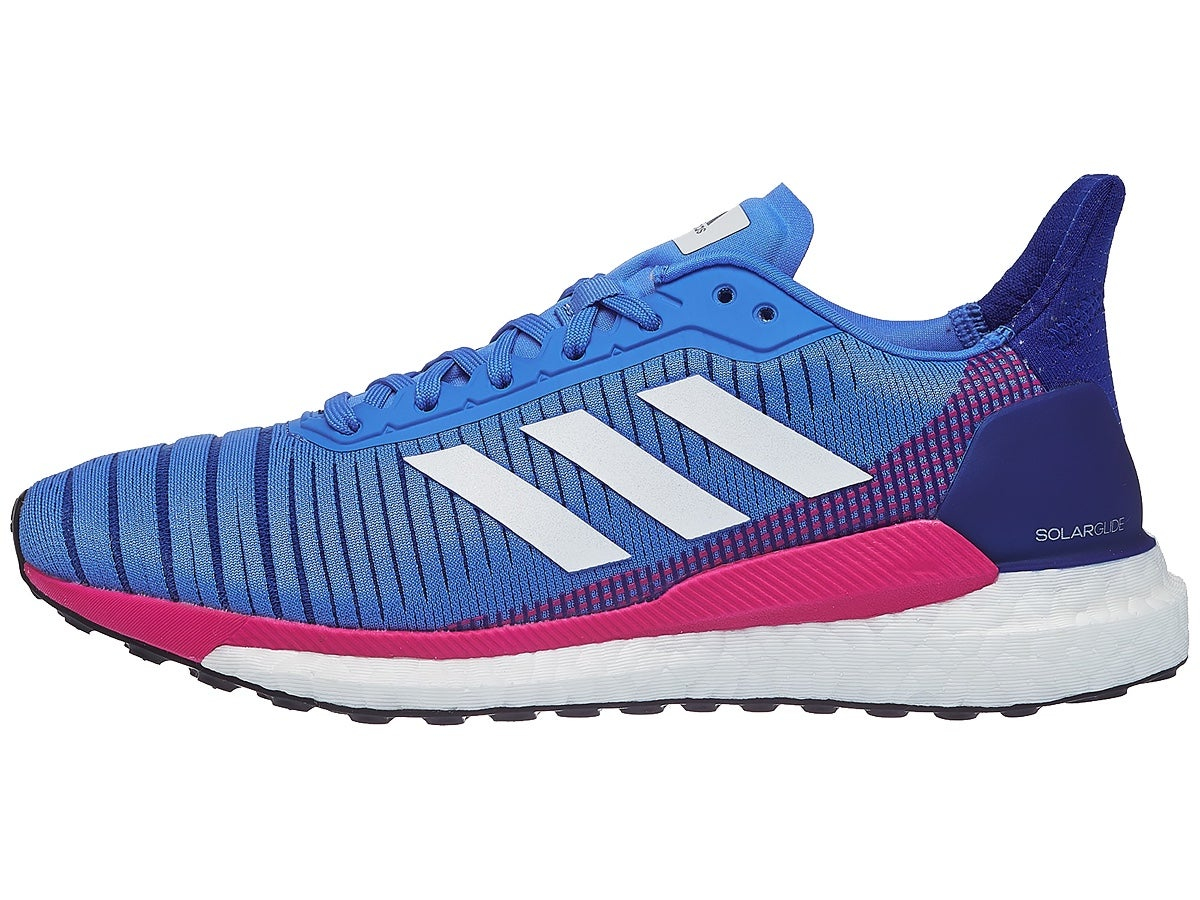 Zapatillas Mujer adidas Solar Glide Azul/Rosa