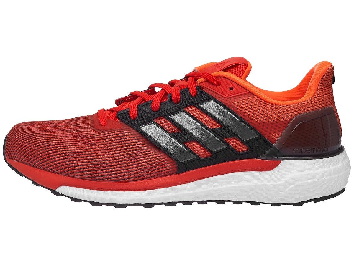 Adidas Nova Cushion M - Zapatillas de Running para Hombre, Color Negro/Naranja, Talla 40