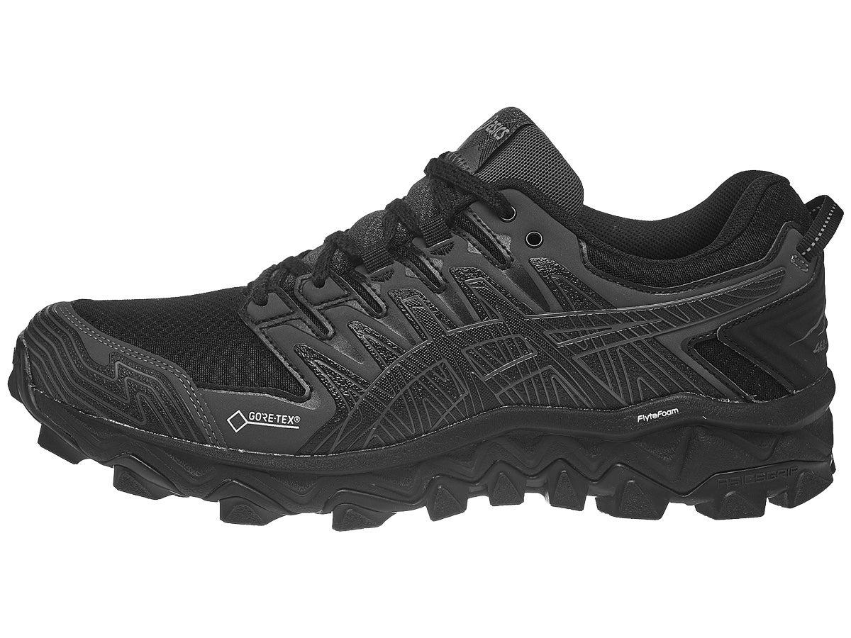 ASICS Gel FujiTrabuco 7 GTX Women's Shoes Black/Black