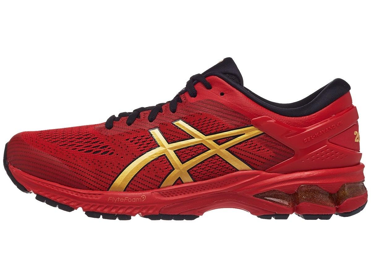 ASICS Gel Kayano 26 Men's Shoes Red/Gold