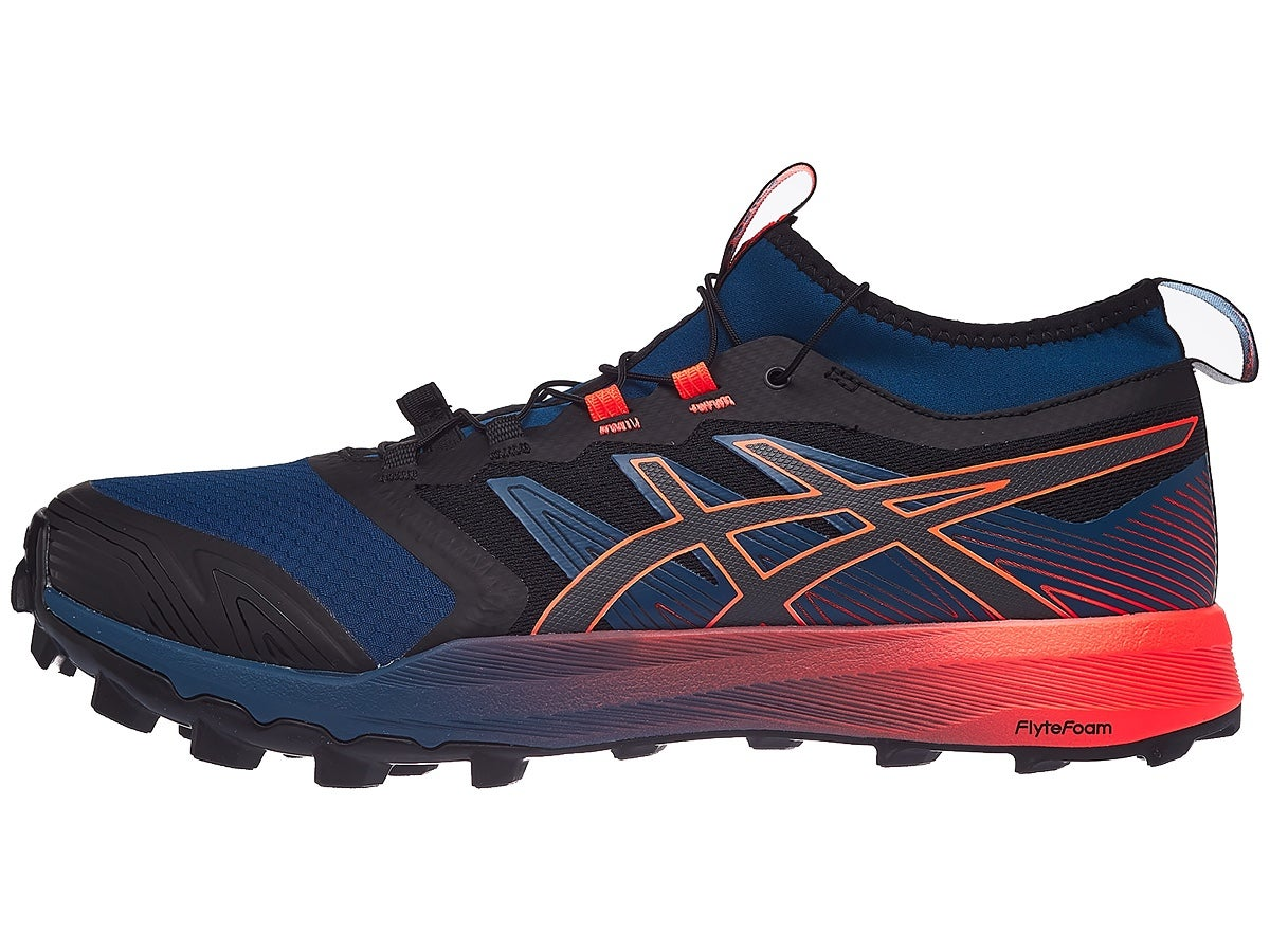 ASICS Gel FujiTrabuco Pro Men's Shoes Mako Blue/Coral
