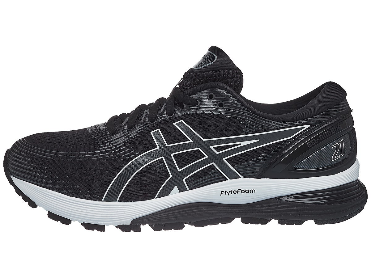 Scarpe ASICS Gel Nimbus 21 Black/Dark Grey Uomo
