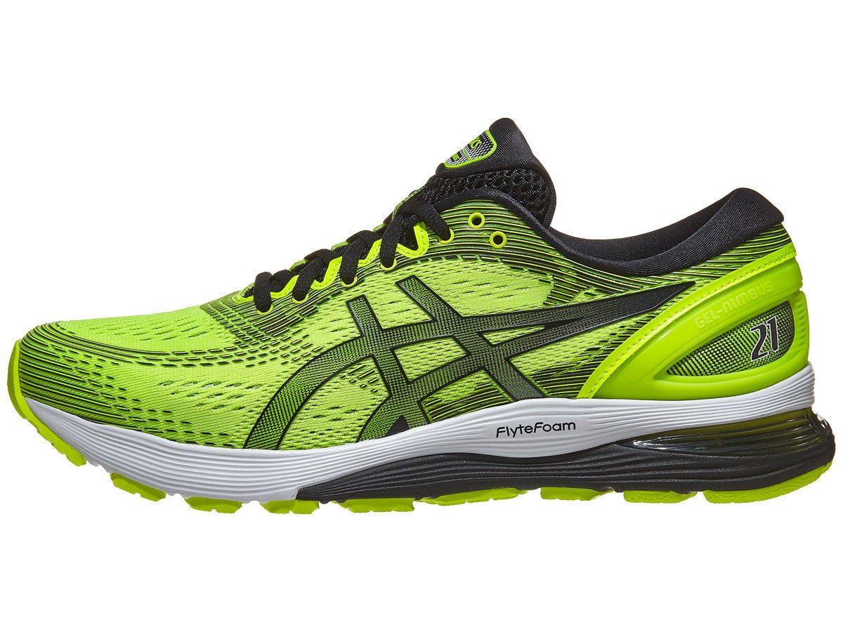 Scarpe ASICS Gel Nimbus 21 Safety Yellow/Black Uomo