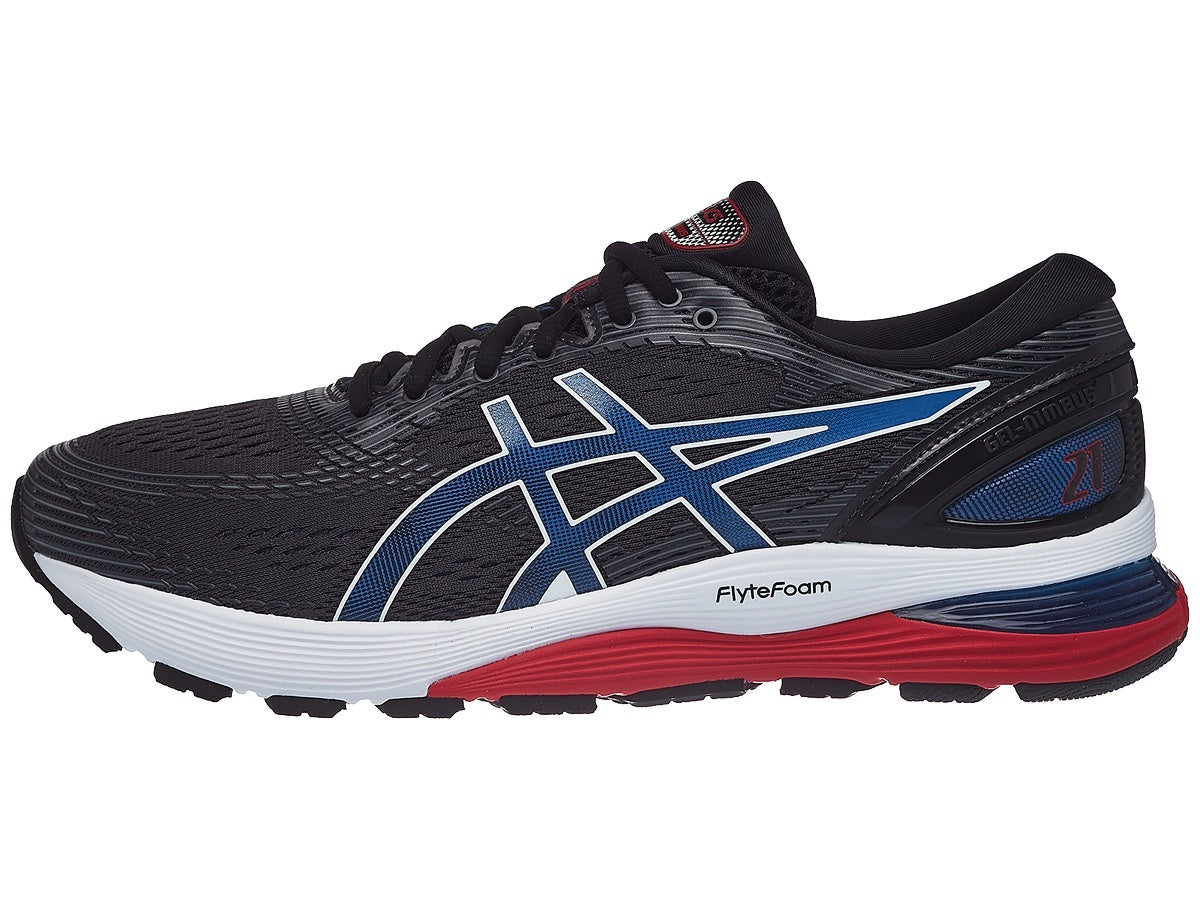 Scarpe ASICS Gel Nimbus 21 Black/Blue/Red Uomo