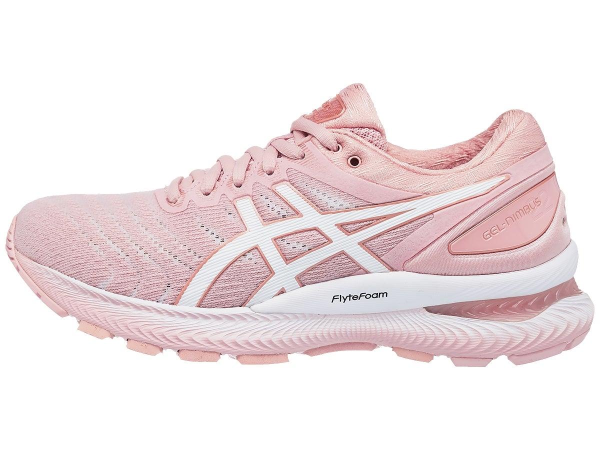 Zapatillas Mujer ASICS Gel Nimbus 22 Rosa/Blanco