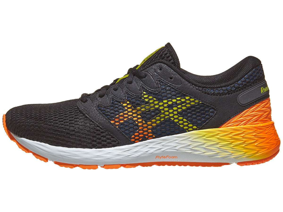 ASICS Roadhawk FF 2 Men's Shoes Black/Orange/Yellow