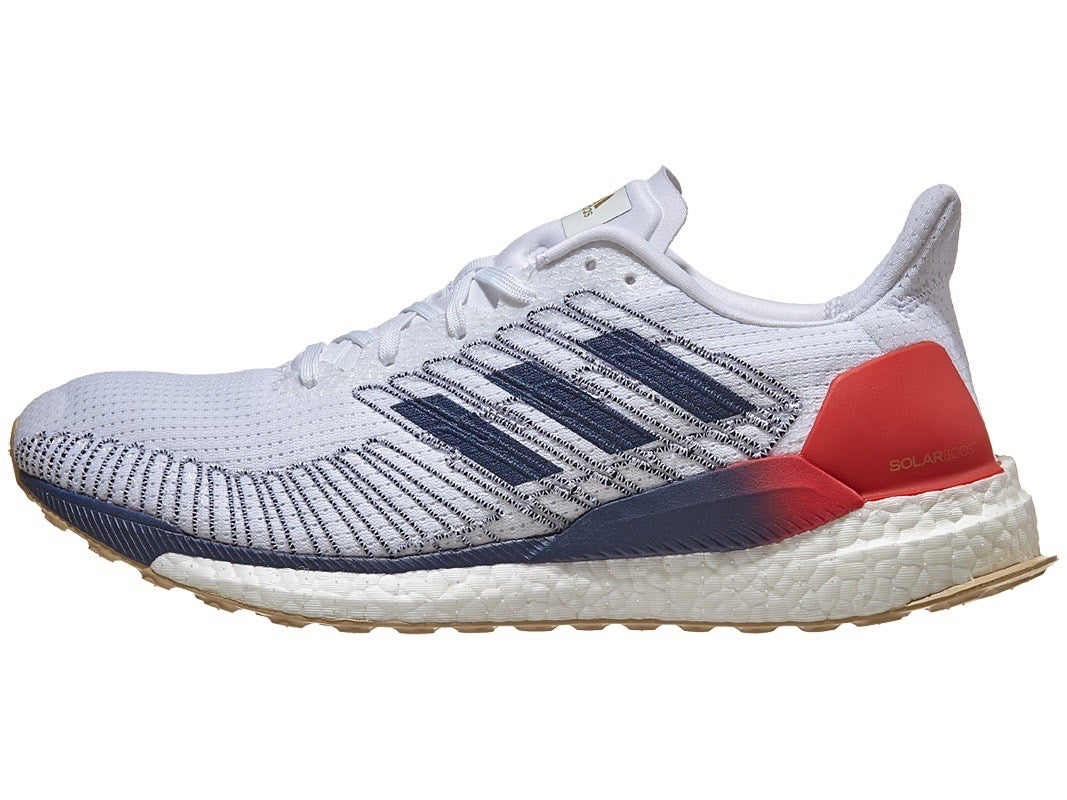 adidas Solar Boost Men's Shoes White/Navy/Red