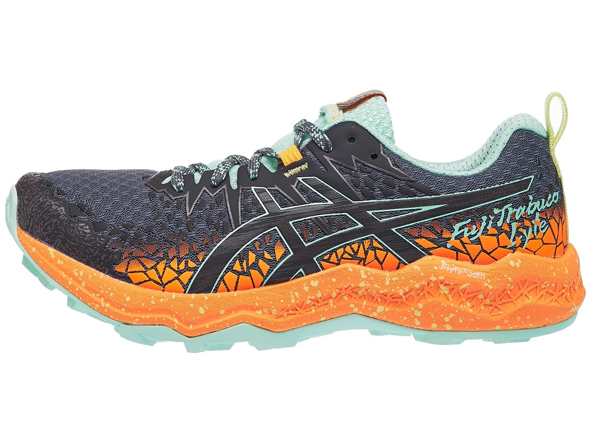 Zapatillas Mujer ASICS Gel FujiTrabuco Lyte Gris/Naranja