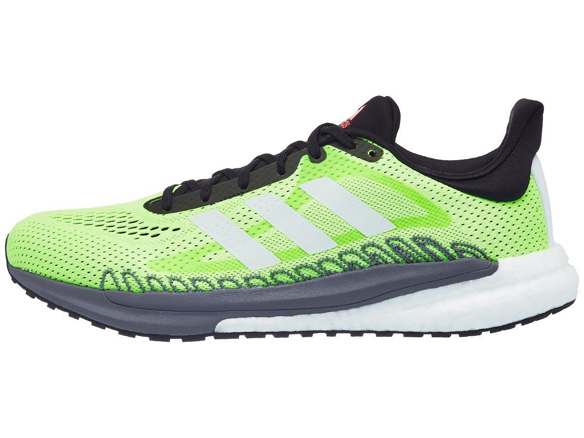 Zapatillas Hombre adidas Solar Glide 20 Verde fosforito Volt/Negro