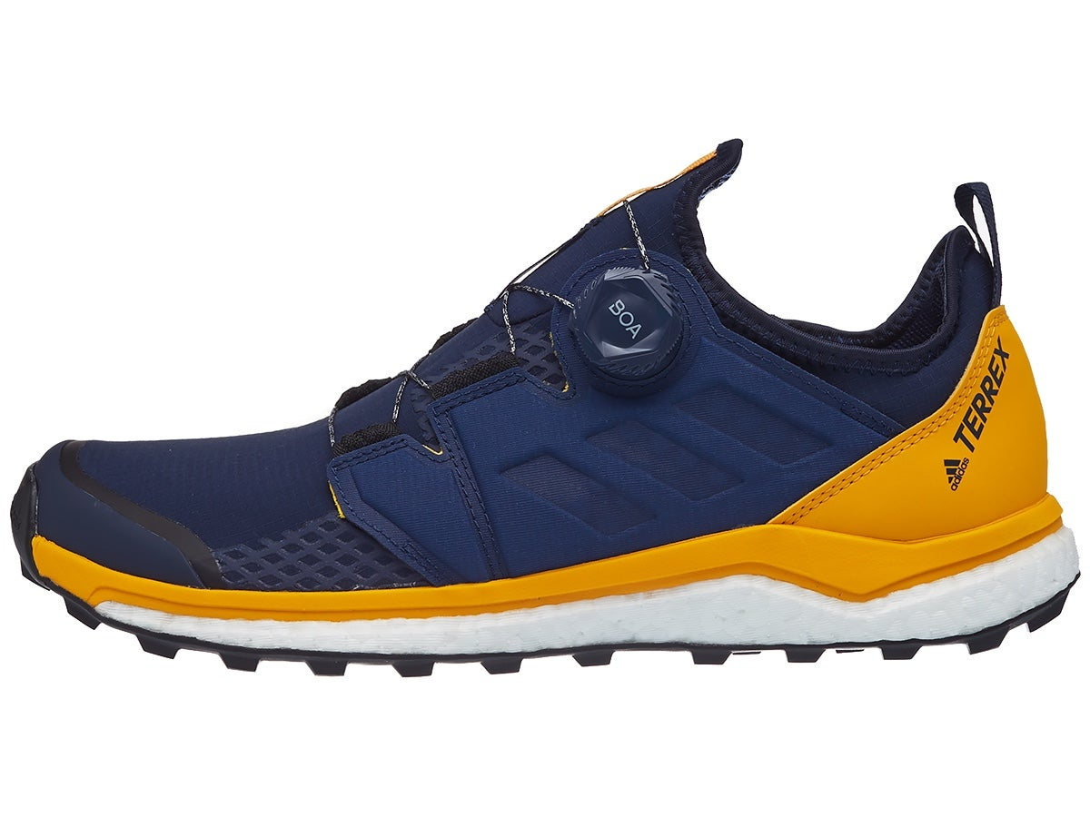 adidas Terrex Agravic Boa Men's Shoes Navy/Yellow