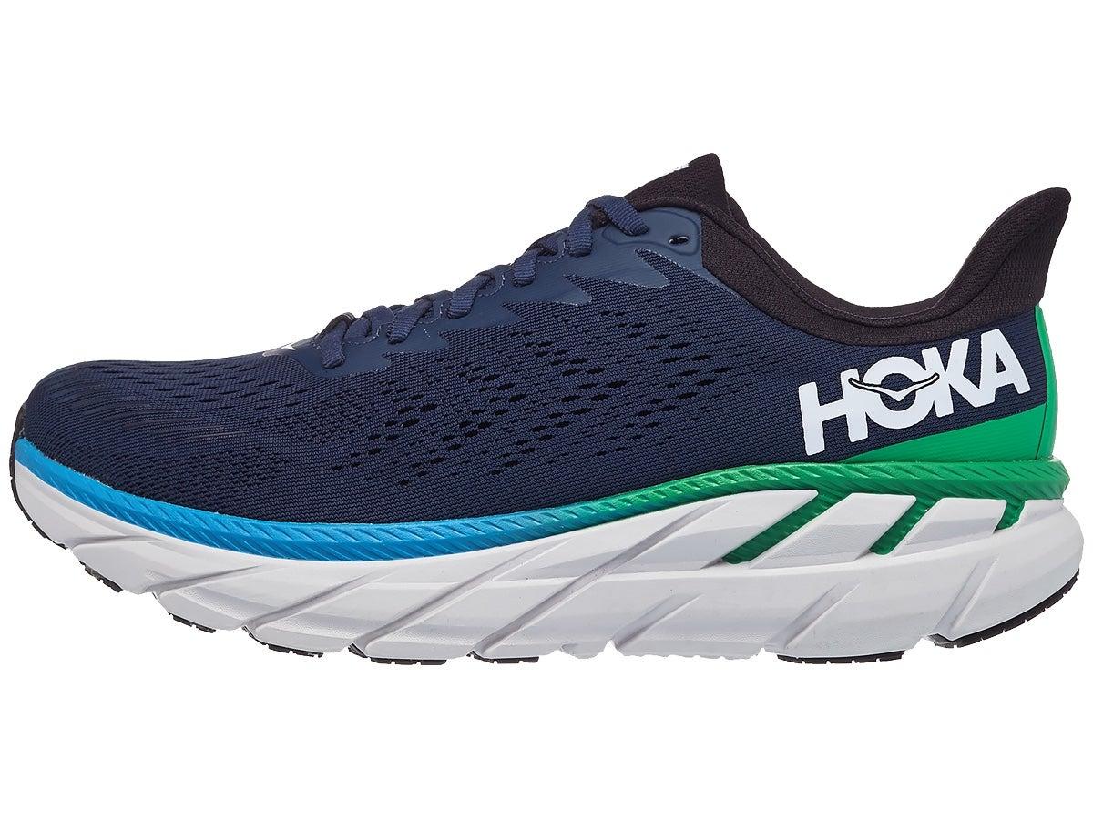Zapatillas Hombre HOKA ONE ONE Clifton 7 Anchas Azul Moonlite Ocean