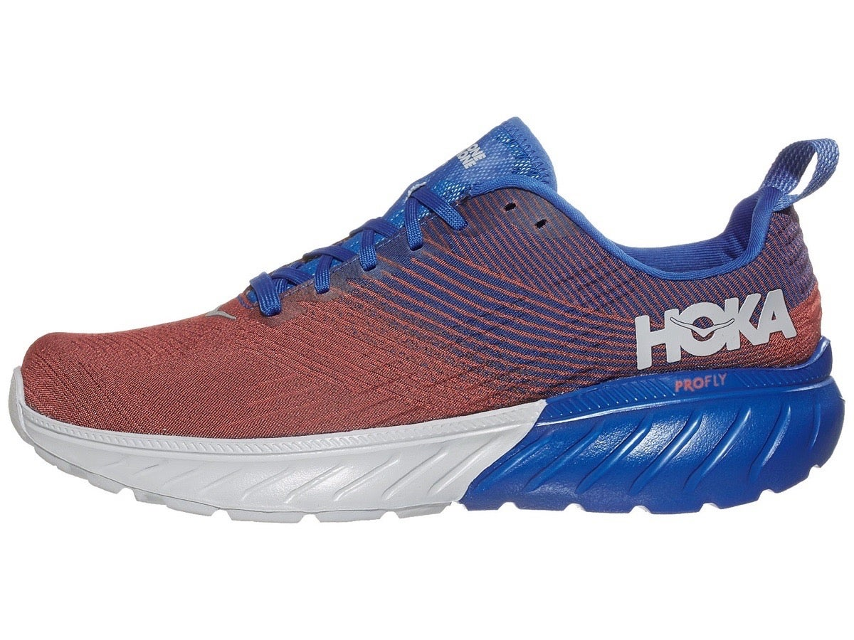Zapatillas Hombre HOKA ONE ONE Mach 3 Azul Imperial/Rojo