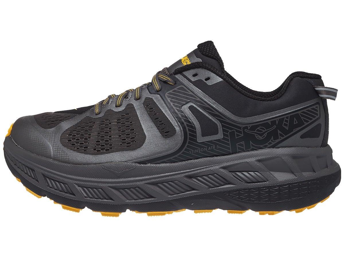 HOKA ONE ONE Stinson ATR 5 Men's Shoes Anthracite/Grey