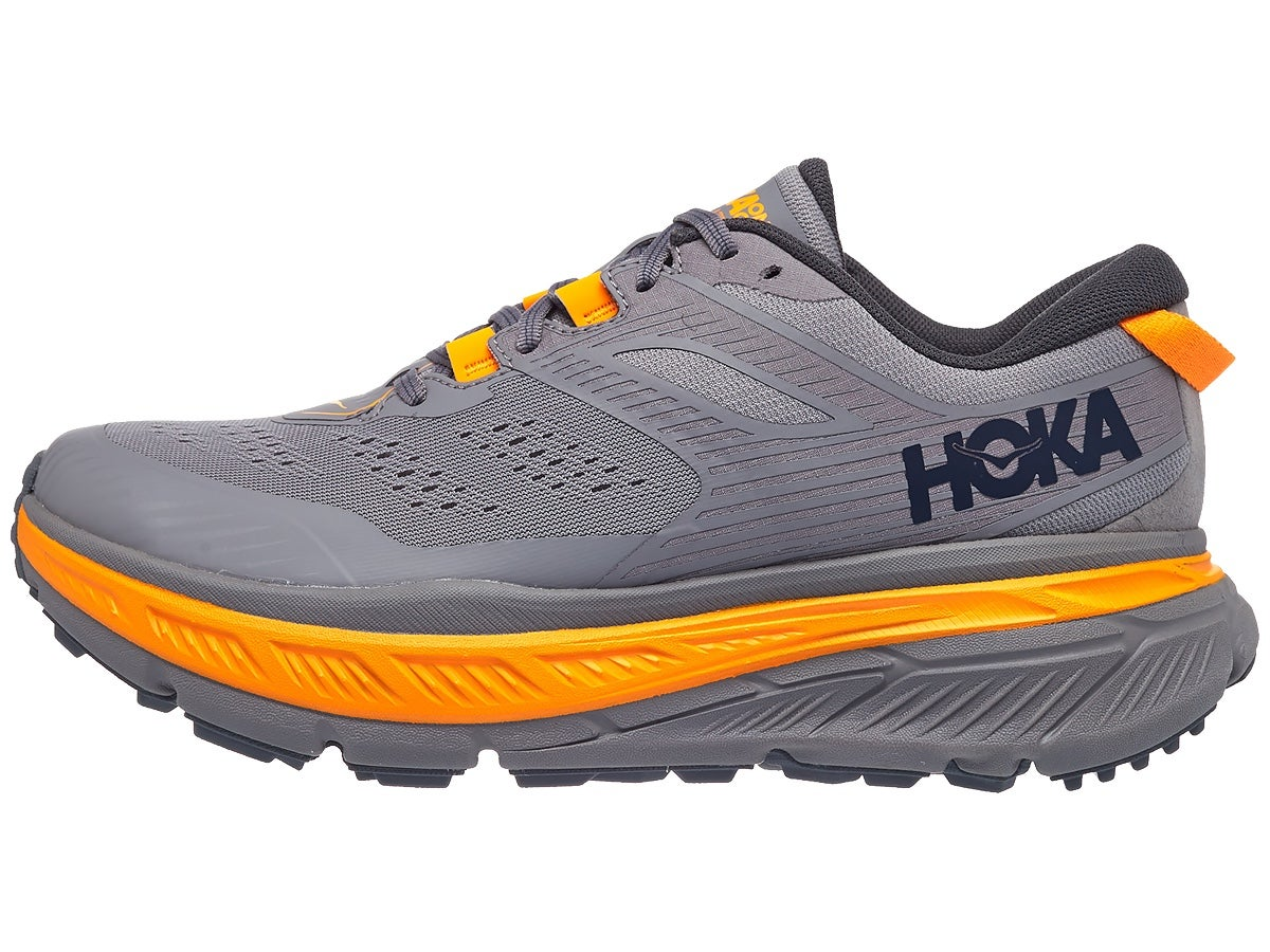 HOKA ONE ONE Stinson ATR 6 Men's Shoes Frost Grey