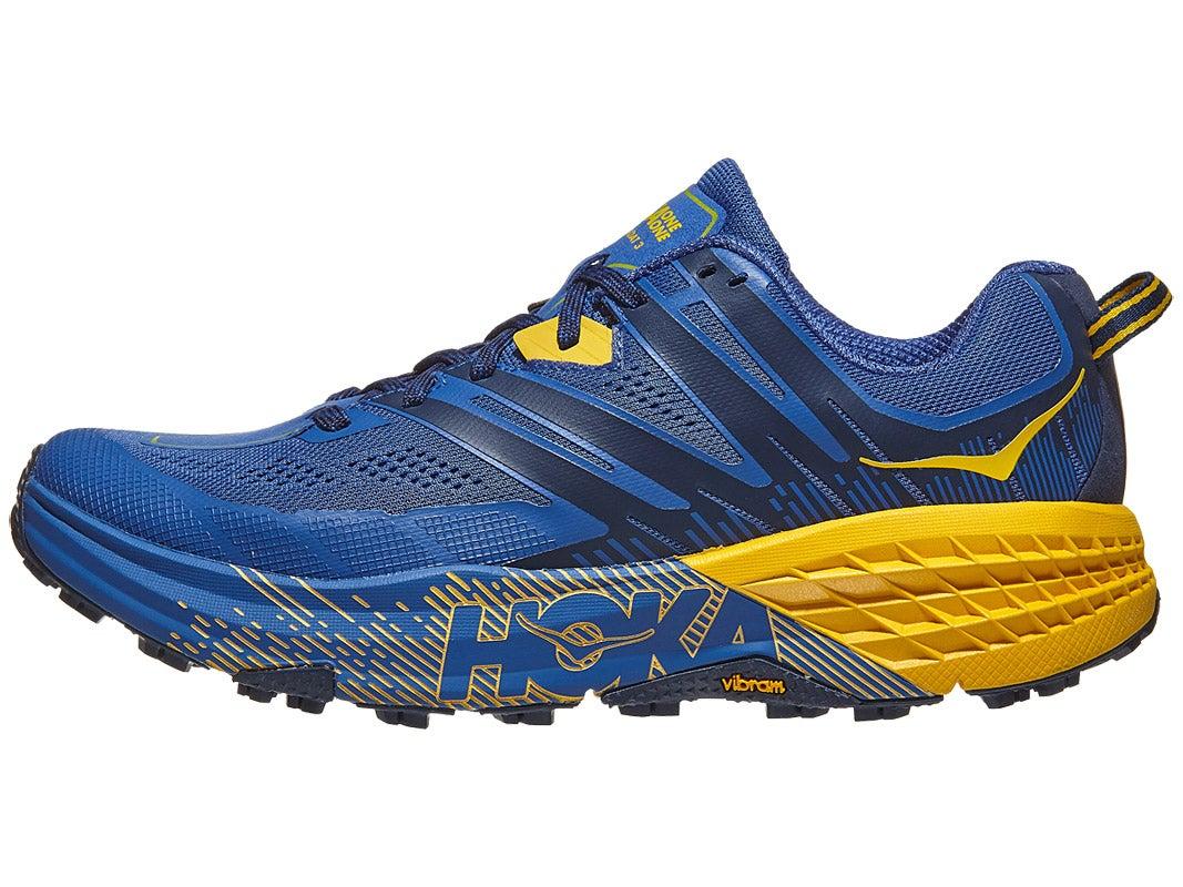 Zapatillas Hombre HOKA ONE ONE Speedgoat 3 Azul Galaxy/Dorado