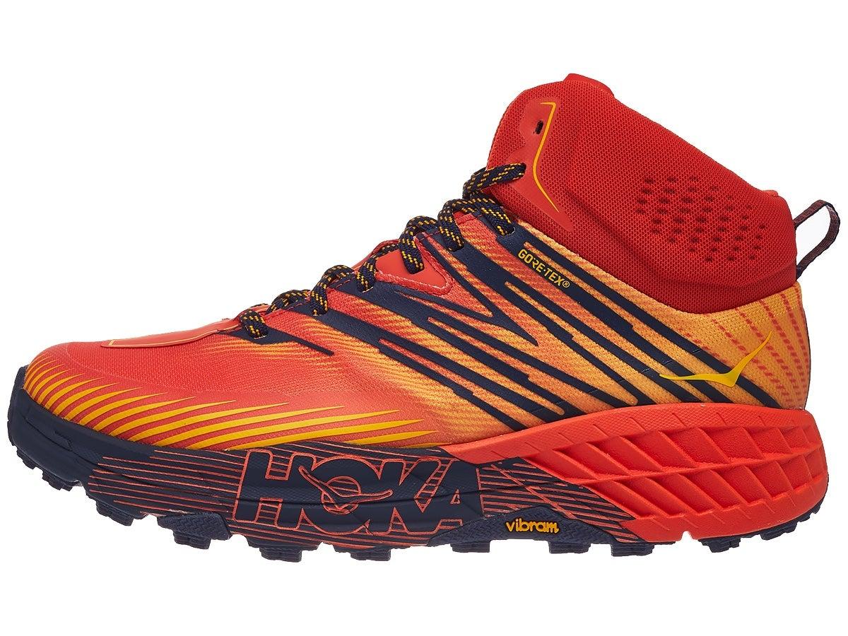 Zapatillas Hombre HOKA ONE ONE Speedgoat Mid GTX 2 Rojo