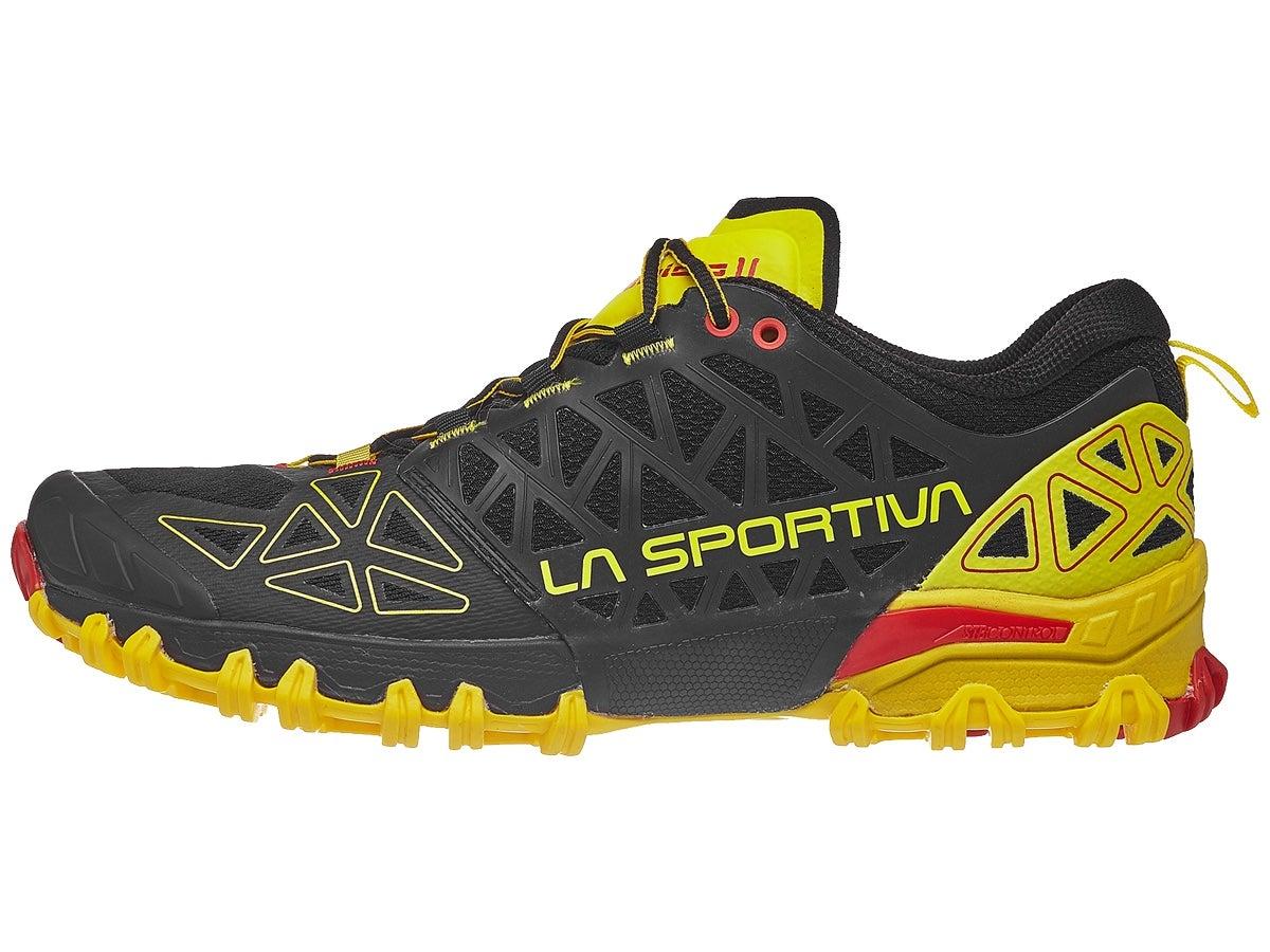 Scarpe La Sportiva Bushido II Black/Yellow Uomo